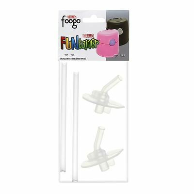 Thermos - Foogo & FUNtainer REPLACEMENT Straw and Mouthpiece 2pc Pack