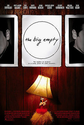 The Big Empty (2003) Original Movie Poster  -  Rolled