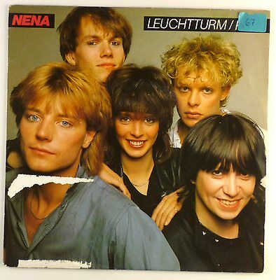 "7"" Single - Nena - Leuchtturm / Kino - S1206 - washed & cleaned"