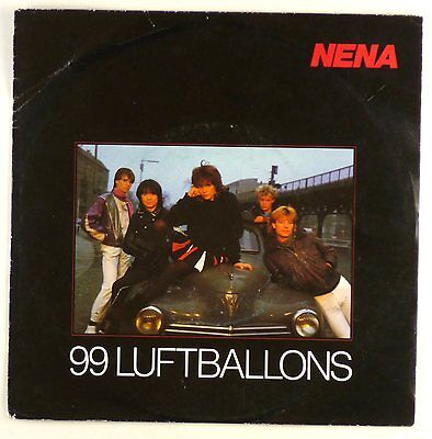 "7"" Single - Nena - 99 Luftballons - S1220 - washed & cleaned"