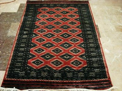 Copper Jaldar Hand Knotted Rug Mat Carpet Silk Wool 6X4