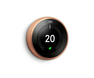 NEST Learning Thermostat Copper 3rd Generation - T3018GB
