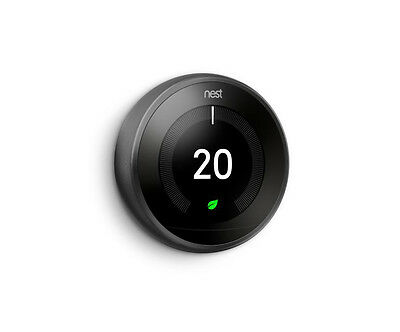 NEST Learning Thermostat Black 3rd Generation - T3019GB
