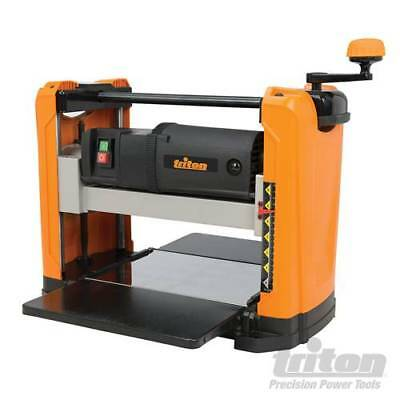Triton Planer Thicknesser 317mm Woodworking Workshop Professional Wood Tool