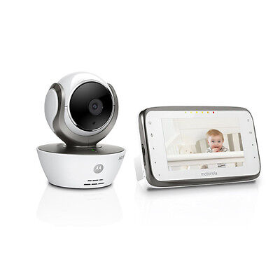 New Motorola MBP854 Connect Digital Video Baby Monitor Infrared Night Vision