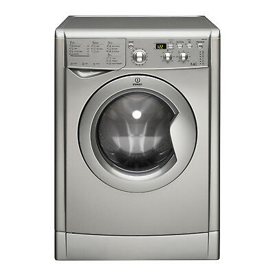 Indesit Ecotime IWDD 7143 S Washer Dryer - Silver