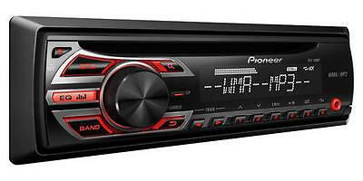 NEW Pioneer DEH-150MP Single-DIN Car Stereo w/ 3.5mm Auxiliary Input & Remote Co