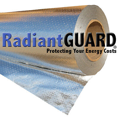 Radiant Barrier Insulation RadiantGUARD® Ultima-FOIL 1000 sf Reflectivity of 97%
