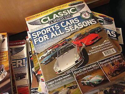 Job Lot / Collection of 75+ Classic & Sports car magazines