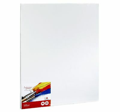 """CANVAS PANELS 6 PACK - 16""""X20"""" SUPER VALUE PACK Artist Canvas Panel Boards fo..."""