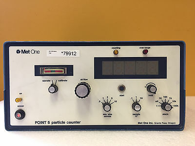 Met One Point 5 PN# P5D-1-1, 0.1 to 10 cu ft Sample Size, LED, Particle Counter