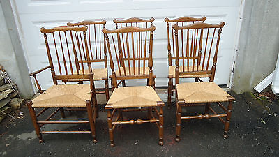 6 18Thc Conn Queen Anne Chairs Decorative Arts Aafa William And Mary