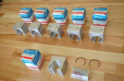 "NEW Thomson Super16-OPN Linear Ball Bushing Bearing 1""dia Bore w/ Aluminum Block"