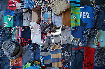Bundle of boys clothes from 4-5 years old - FULL LIST & LOTS OF PICTURES INSIDE