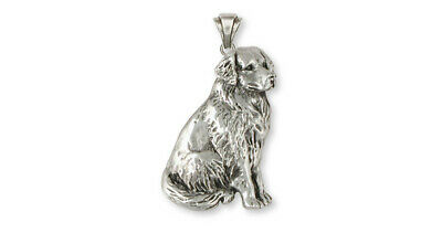 Bernese Mountain Dog Pendant Jewelry Sterling Silver Handmade Dog Pendant BMD1-P