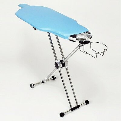 Flippr by Sharkk 360 Degree Rotating Ironing Board with Detachable Iron Rack