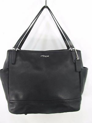 COACH 26353 SAFFIANO LEATHER BABY DIAPER BAG Multifunction Bag Tote