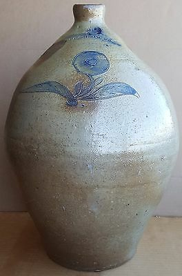 William C Grissam & Co American Antique Stoneware Jug