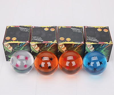 Big Size Dragon Ball Z Crystal Balls 7cm Action Figure Colours Toys Stars Gift 1