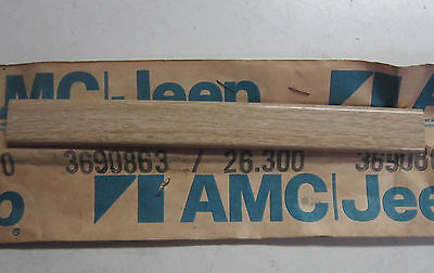 1977 1978 1979 1980 AMC Pacer Wagon NOS fender wood grain molding
