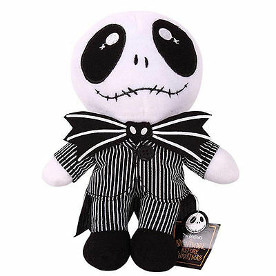 """9"""" Nightmare Before Christmas Jack Skellington Plush Toy Cute Soft Toy Doll"""