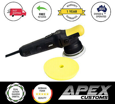 APEX-MR MIYAGI 21mm Dual Action Random Orbital Polisher (Rupes Cpt)-Premium Pack