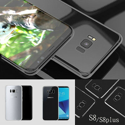 2018 Case Clear Slim Cover Shell Shockproof Soft TPU For Samsung S8/S8 Plus New