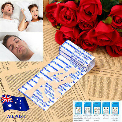 Nasal Strips to Stop Snoring Help Breathe Right Better Anti Snore Strips EA