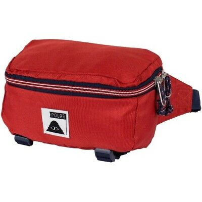 Poler Outdoor Stuff Rover Unisex Bag Bumbag - Mud Red One Size