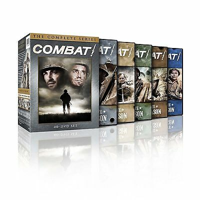 New & Sealed! TV Combat Complete Series DVD Box Set Seasons 1 - 5