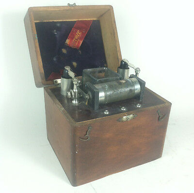 Quack Medicine shock box 1890s Whitall Tatum THE FLORENCE Wood