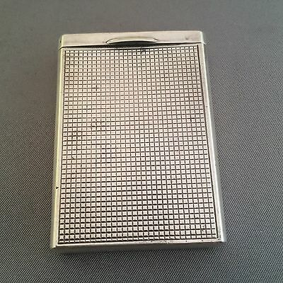Antique Sterling Silver Match Safe Vesta Case.