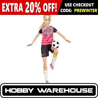 Barbie Made to Move The Ultimate Posable Barbie - Soccer Player