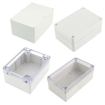 Waterproof Clear Cover Plastic Electronic Project Box M9H4