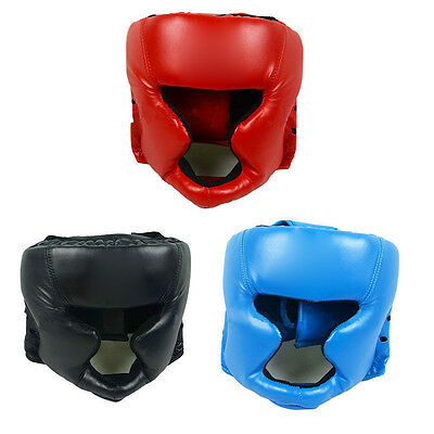 Boxing Pretection Gear Headgear Head Guard Trainning Helmet Kick Shield Mystic