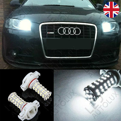AUDI A3 8P Ps19w H16 5202 LED Lights White Sidelight Bulbs Daytime Xenon CANBUS