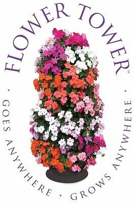 2 Flower Tower Floor Standing Tower Self-Contained Free-Standing  ** Free P&P **