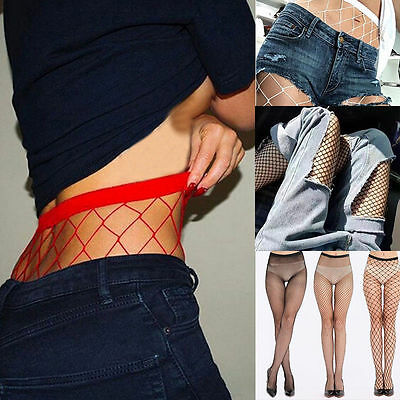 Fashion Women Net Fishnet Bodystockings Pattern Pantyhose Tights Stocking 2017