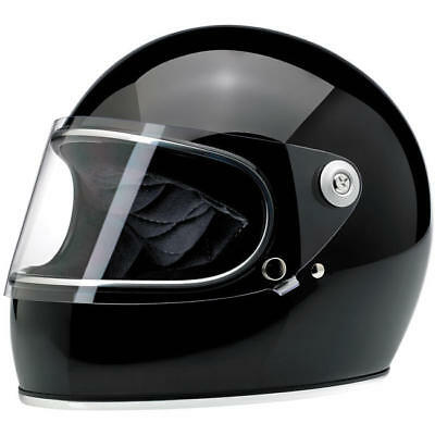 Biltwell Gringo S Gloss Black Helmet - Uk Stockist **Fast Shipping**