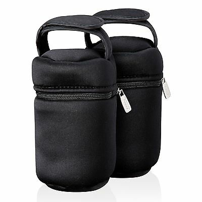 Tommee Tippee Insulated Bottle Bags x 2 NEW *FAST & FREE DELIVERY*