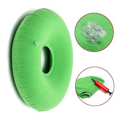 Inflatable Rubber Ring Round Cushion Hemorrhoid Pillow Medical Donut Seat