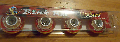 Rink Rat M-Tech Roller Hockey Wheels Indoor 59 MM Hot Shot Grip Speed 62 76