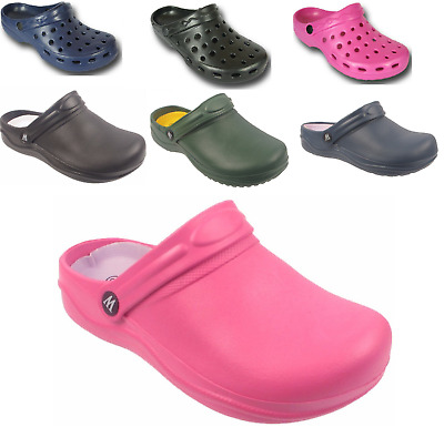 Coolers Footwear / Unbranded Womens Garden Clogs Gardening Shoes UK Sizes 3 - 8