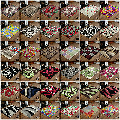 MODERN SMALL ALPHA BUDGET SALE 60 X 120 CM MULTI DESIGN RUG 8-10mm THICK RUG MAT