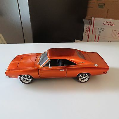 1969 Dodge Charger Limited Edition Hot Wheels Classic 1:18 Scale Diecast