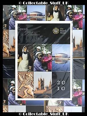 2010 Royal Mint Annual Brilliant Uncirculated 12 Coin Set Still Mint Sealed GB