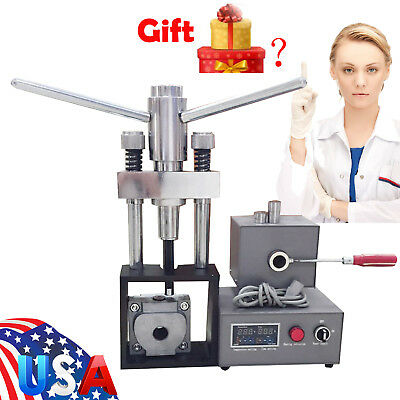 Dental Flexible Denture Injection System Machine Lab Equipment Heater Hot Press