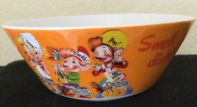 Kellogg's Snap Crackle Pop Rice Krispies Cereal Bowl Advertising 2001