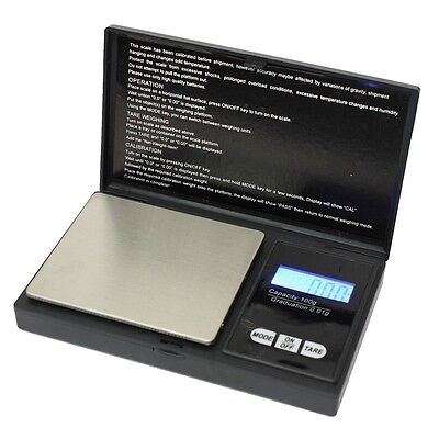 200g * 0.01g LCD Digital Pocket Scale Jewelry Gold Gram Balance Weight Scale FS