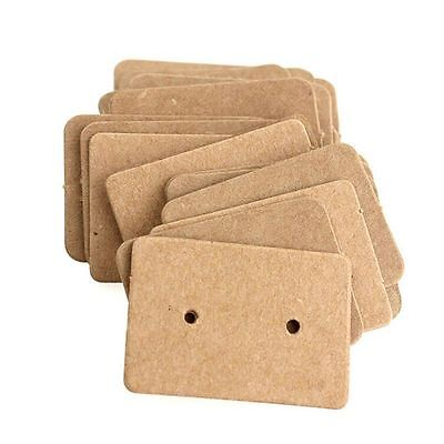 Cardboard Display Cards Paper Cards Earring Holder Ear Studs Hanging Cards